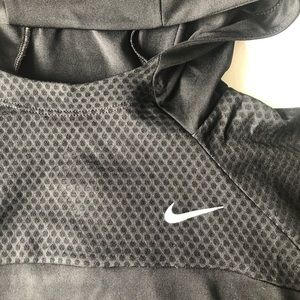 Nike dry fit hooded active top